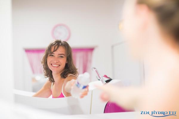 zen hydro fit aquabiking caen