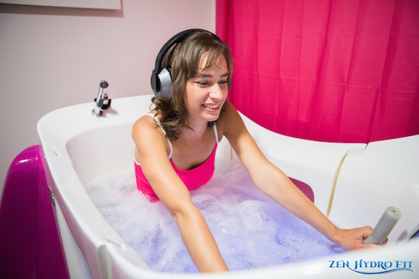 Zen Hydro Fit - Aquabiking à Caen - Aquabike à Caen - Pédaler dans l'eau en musique